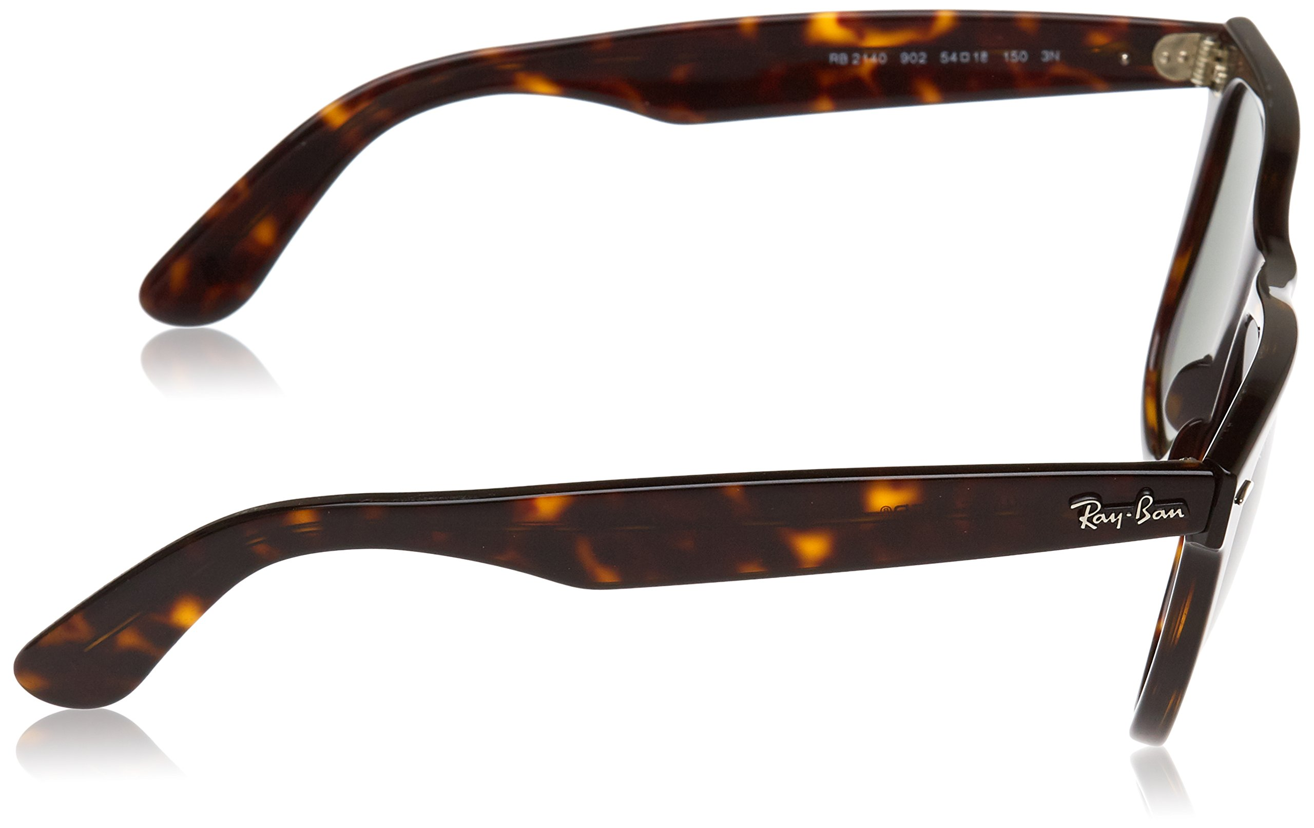 Ray-Ban, RB2140 Original Wayfarer Sunglasses, Unisex Ray-Ban Glasses, 100% UV Protection, Non-Polarized, Reduce Eye Strain, Lightweight Acetate Frame, Prescription-Ready Lenses, 54 mm Frame by Ray-Ban (Image #3)
