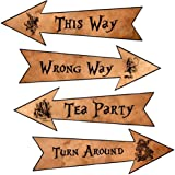 Alice in Wonderland new larger size 4 party arrows party decoration