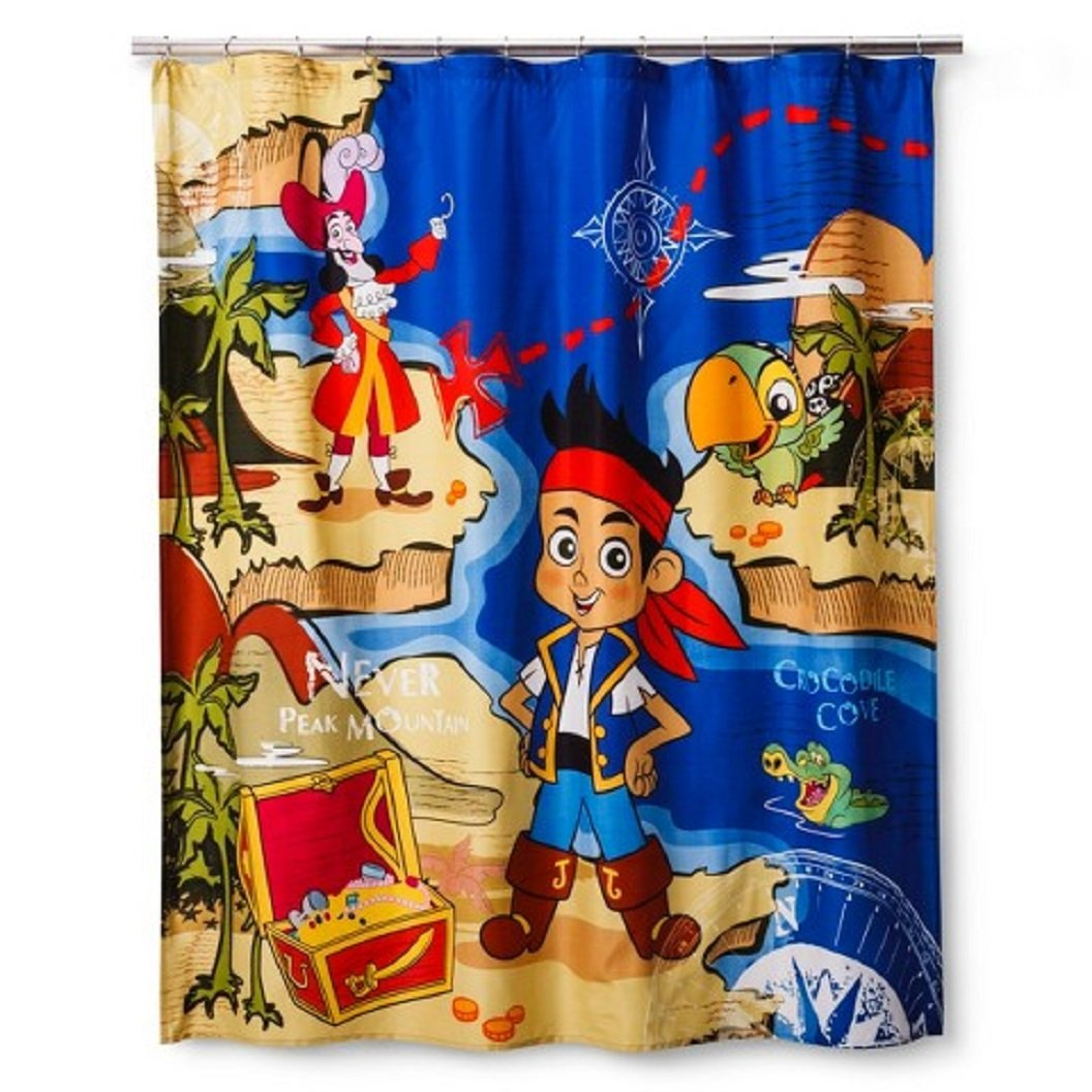 Jake Discovery Shower Curtain