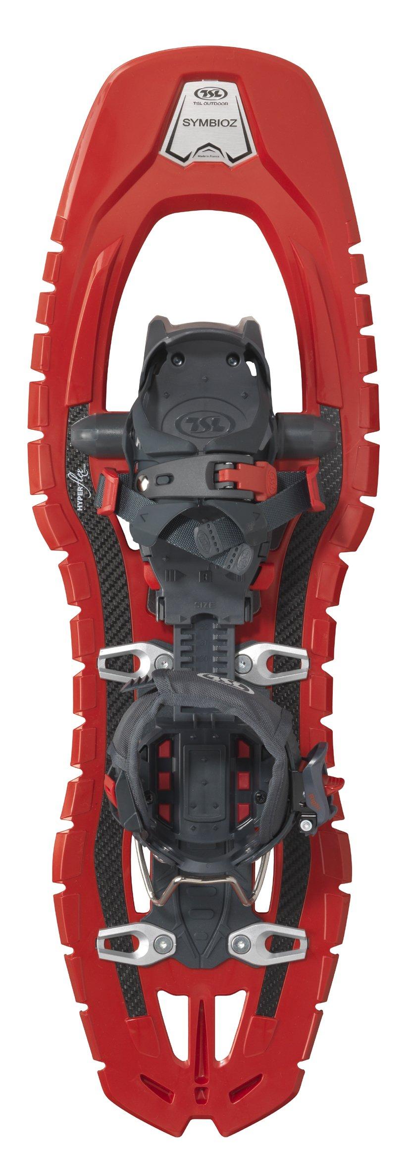 TSL Snowshoes Symbioz Snowshoe, Red, 23.5-Inch