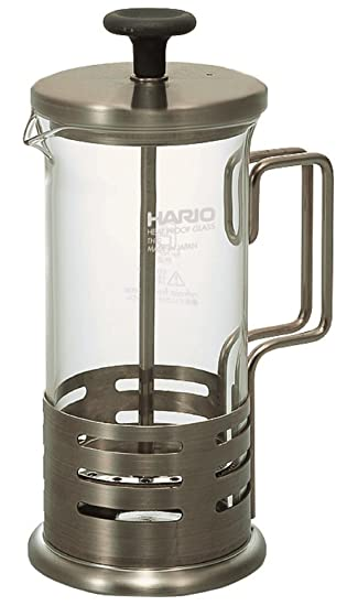 Harior Bright Tea & Coffee Press, Silver