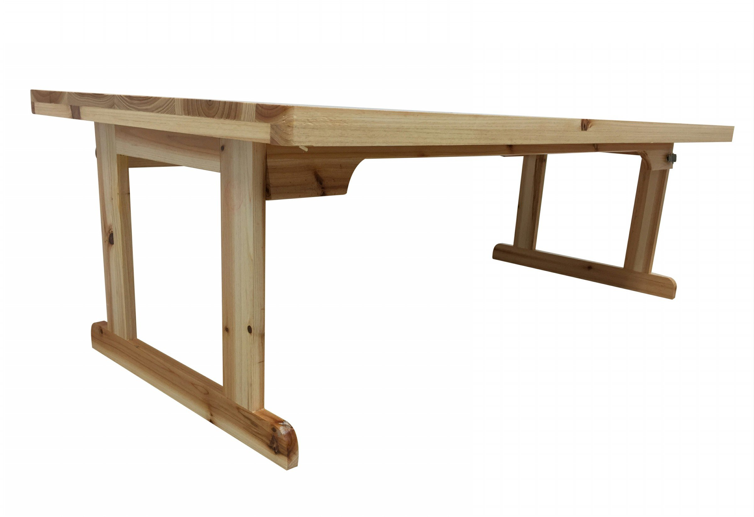 Zora ZR39FT 40'' in. Long Coffee Table, Brown