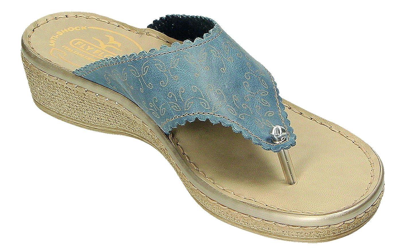 d2bebd57fb18 Fly Flot Women s Clogs Blue Avio Blue Size  8.5 UK  Amazon.co.uk  Shoes    Bags