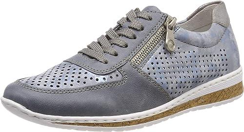 Rieker N5122-12, Sneakers Basses Femme: Amazon.fr: Chaussures et Sacs