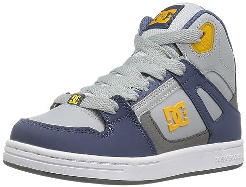 Zapatillas de skate para ni?os con rebote SE, azul / gris / azul, 3 m US Little Kid: Amazon.es: Zapatos y complementos