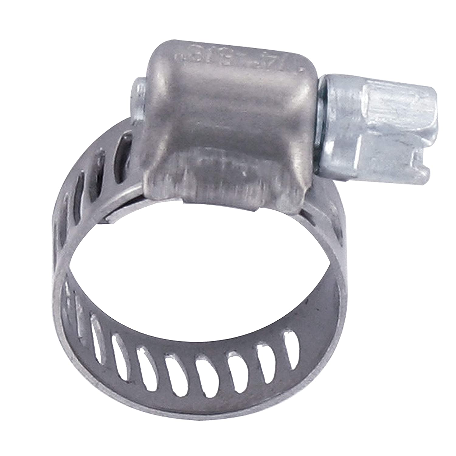 Silver 1//2 x 1-1//16 Stainless Steel Hose Clamp H03-0002 Valterra