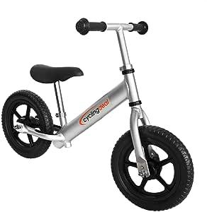 "Alloy Kids Push Balance No-Pedal Bike 12"""