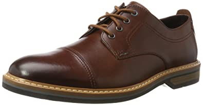 Clarks Pitney Walk, Derby Homme: : Chaussures et Sacs