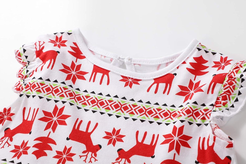 MSSMART Toddler Girls Dress Cotton Stripe Short Sleeves Casual Summer Shirt 18M-7T