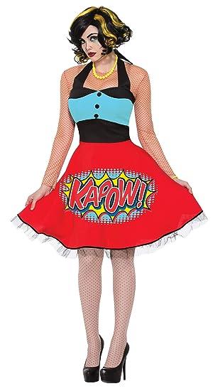 Forum Novelties Disfraz de Pop Art Classic para Mujer: Amazon.es ...