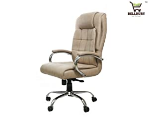 Bellbury High Back Premium Office/Desk Chair/Revolving Chair with Any Position Lock.