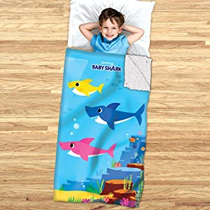 Baby Shark Slumber Bag and Cozy Cover