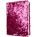 Magic Sequin! Reversible Sequin Pink to Silver Journal