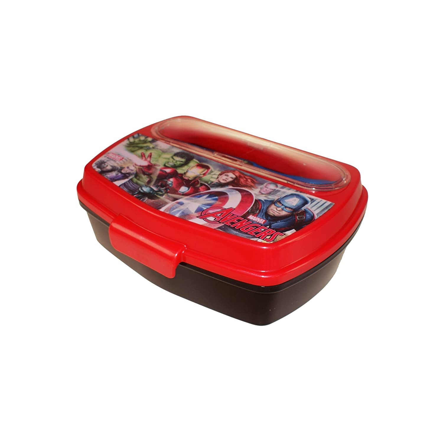 Boyz Toys ST437 Sandwich Box with Cutlery - Avengers, Multi Boys Toys 87709
