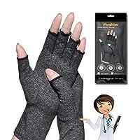 Arthritis Gloves, Arthritis Hand Compression Gloves,for Arthritis Pain Relief Rheumatoid Osteoarthritis and Carpal Tunnel, Premium Compression & Fingerless Gloves for Daily Work (XXL Size, 1pair)