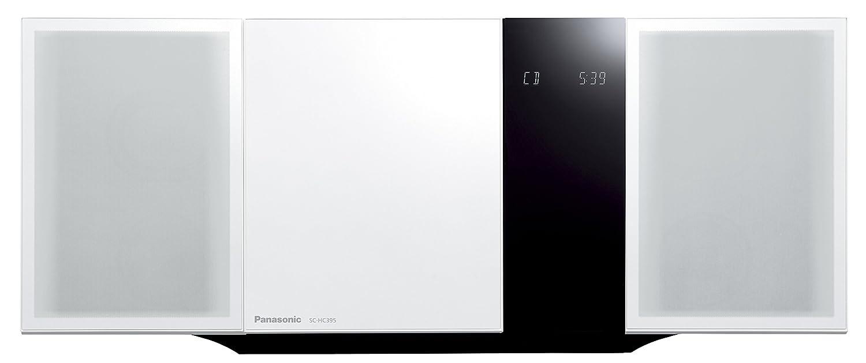 パナソニック ミニコンポ Bluetooth対応 ホワイト SC-HC395-W  ホワイト B01ARFP728