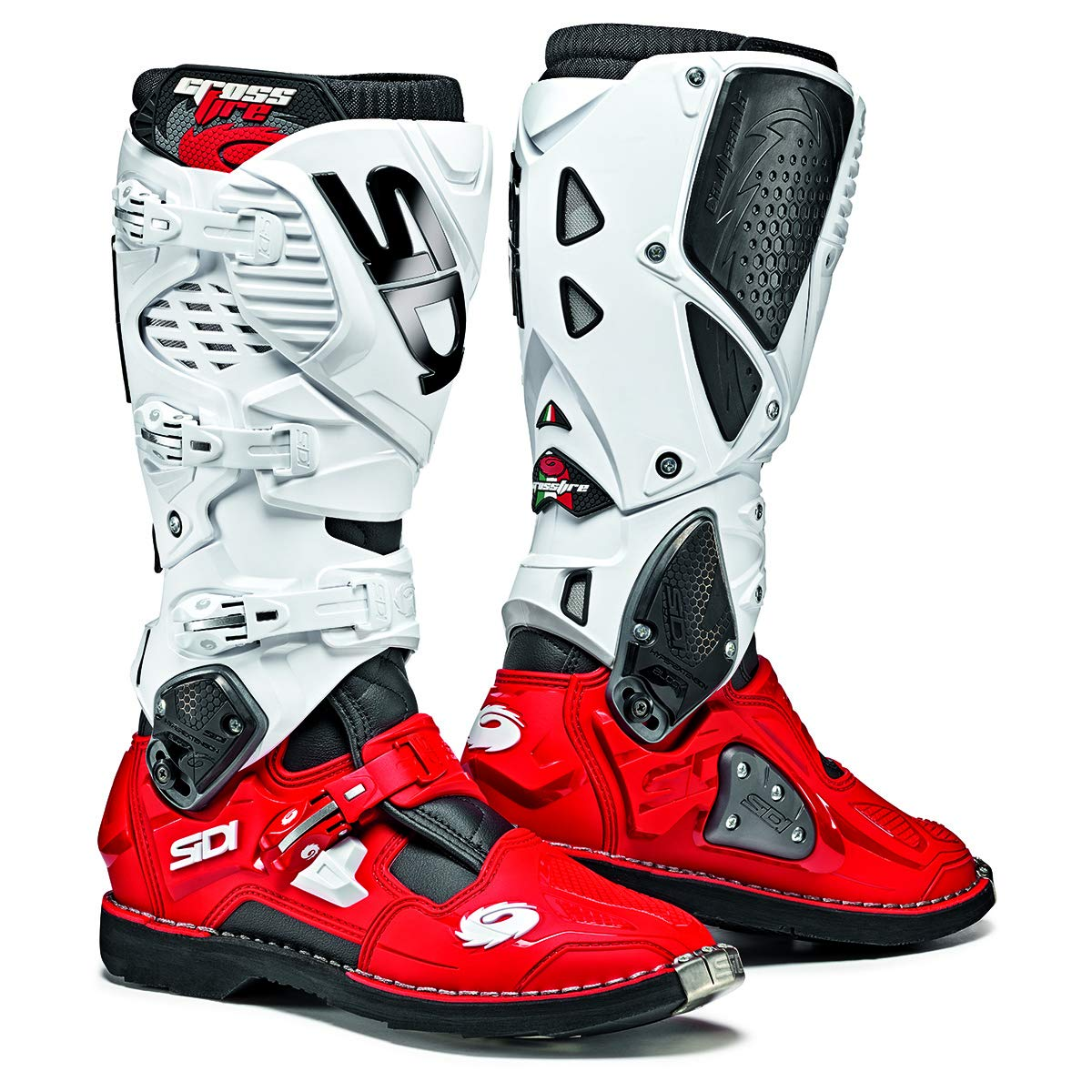 Black // Red // White - US11 // EU45 Sidi Crossfrie 3 TA Dirt Boot