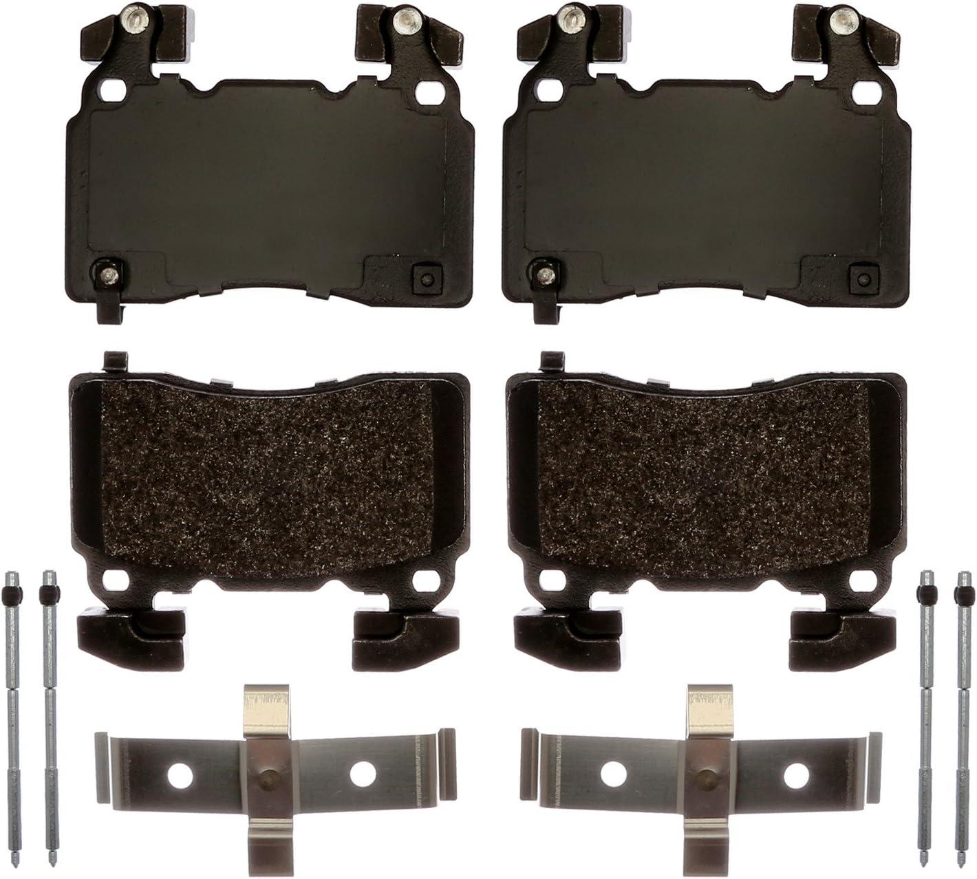 ACDelco 171-0882 GM Original Equipment Rear Disc Brake Pad Kit