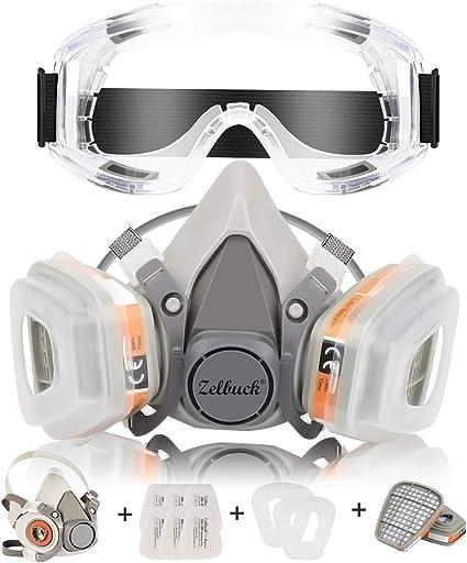 maschera antipolvere amazon
