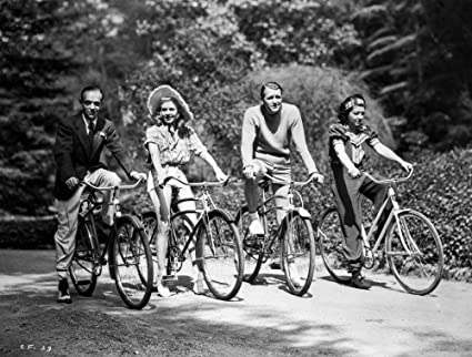 Phenomenal Amazon Com Fred Astaire And Ginger Rogers Riding Bike Photo Download Free Architecture Designs Grimeyleaguecom