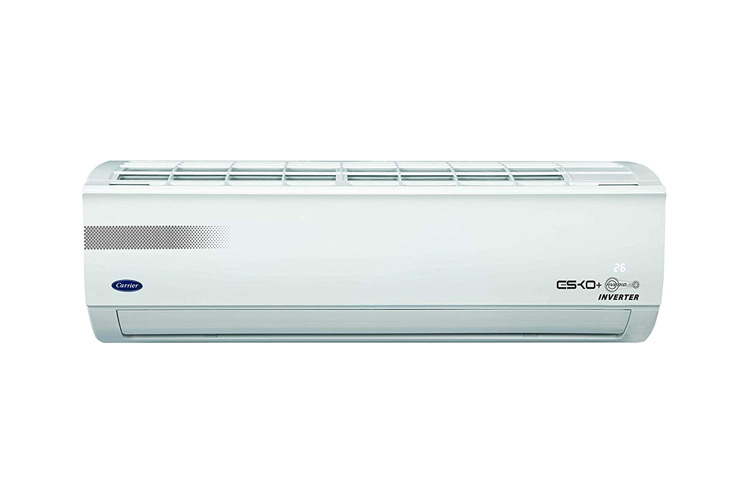 Carrier 1.5 Ton 3 Star Inverter Split AC (Copper ESKO+ HYBRIDJET INV R410ACAI18EK3R49F0 White)