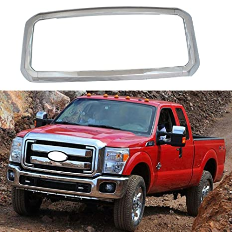Amazon.com: Rejilla para 2011-2016 ford F-250 F-350 F-450 F ...