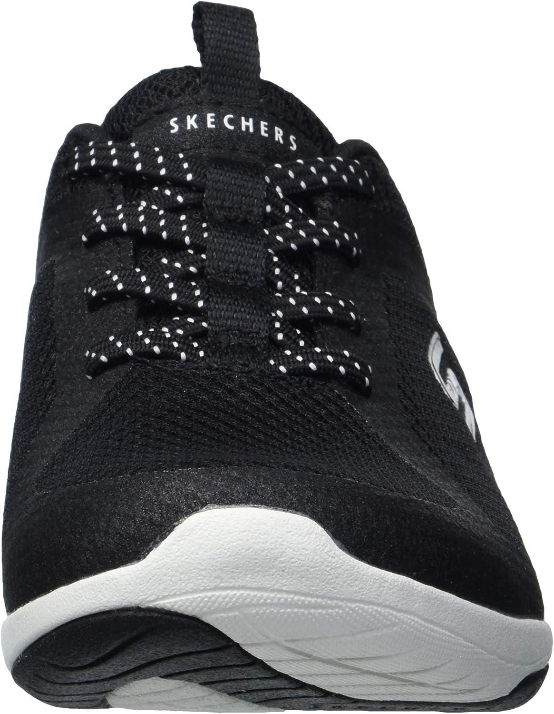 Skechers Lolow, Scarpe da Ginnastica Donna Nero