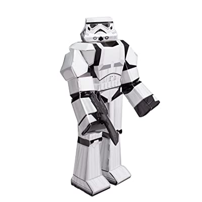 "Zoofy International 12"" Stormtrooper PDQ Action Figure: Toys & Games"