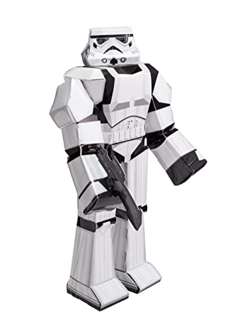 Star wars blueprint paper craft 12 figure stormtrooper amazon star wars blueprint paper craft 12quot figure stormtrooper malvernweather Gallery
