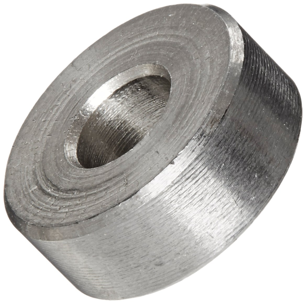 Round Spacer, 18-8 Stainless Steel, Plain Finish, #10 Screw Size, 1/2'' OD, 0.192'' ID, 3/16'' Length (Pack of 5)