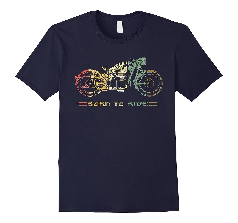 Vintage Biker Classic Motorcycle Shirt-BN