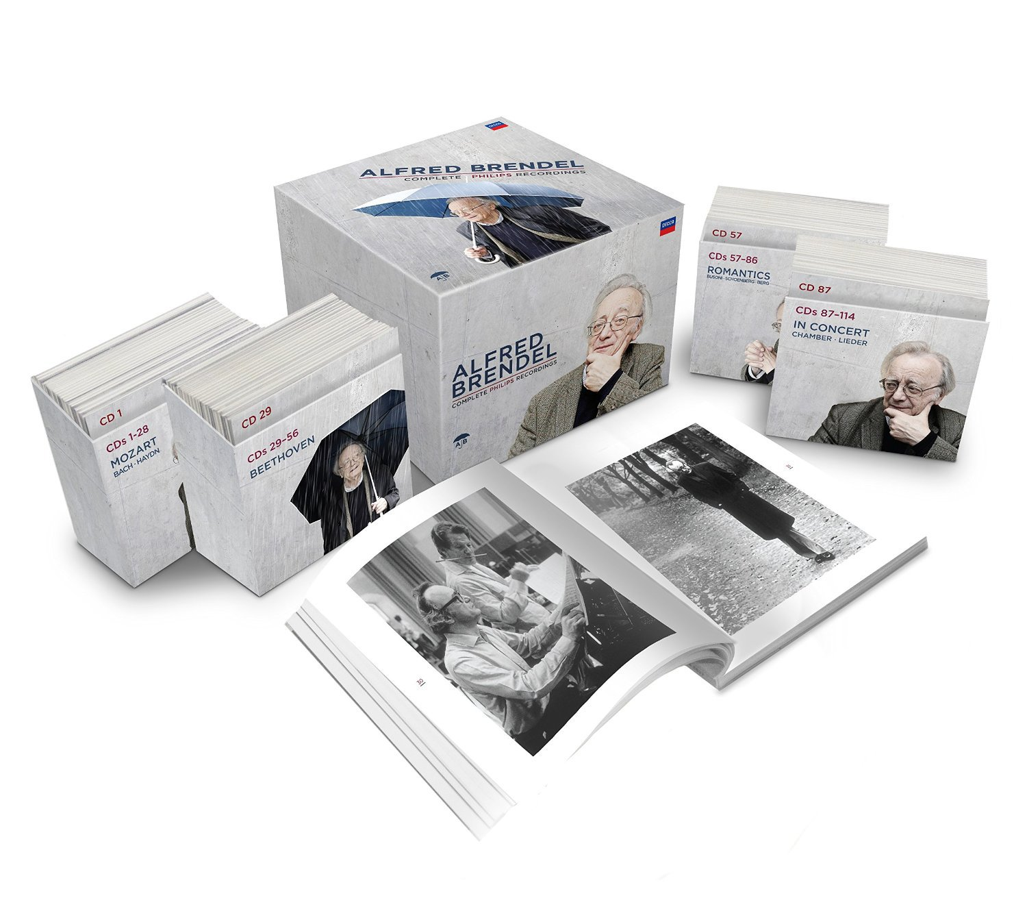 Alfred Brendel - Complete Recordings [114 CD][Box Set] by CD