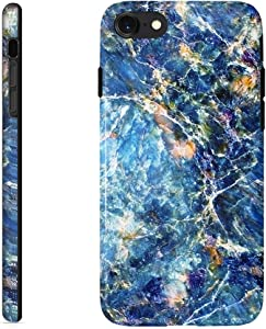 uCOLOR Case Compatible with iPhone 6S 6 iPhone 8/7 SE 2nd(2020) Cute Blue Nature Marble Design Protective Case Slim Soft TPU Silicon Shockproof Cover Compatible iPhone 6s/6/7/8/ SE 2nd(4.7 inch)