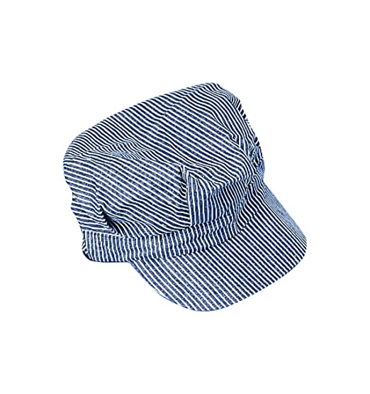 e9e494db Amazon.com: U.S. Toy Engineer Hat - Blue and White Stripes: Toys & Games