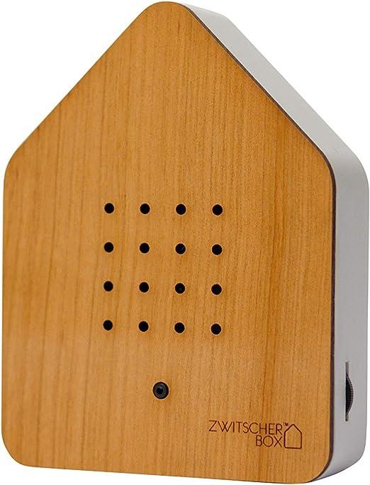 Zwitcherbox Zwitscherbox - Caja de Madera (11 x 12 x 3 cm), Color ...