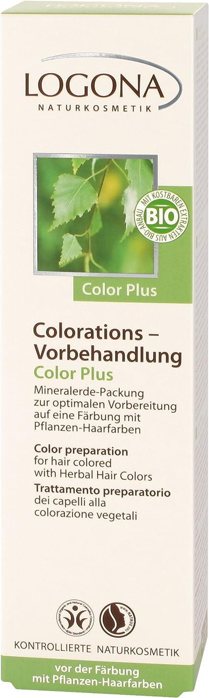 Logona Tratamiento Preparatorio Color Plus, Ayuda Elimina ...