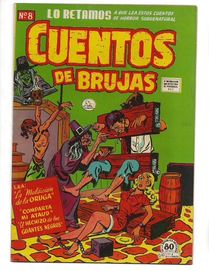 Amazon.com: Cuentos De Brujas #8 1952 Spanish Witches Tales Bondage Cover:  Entertainment Collectibles