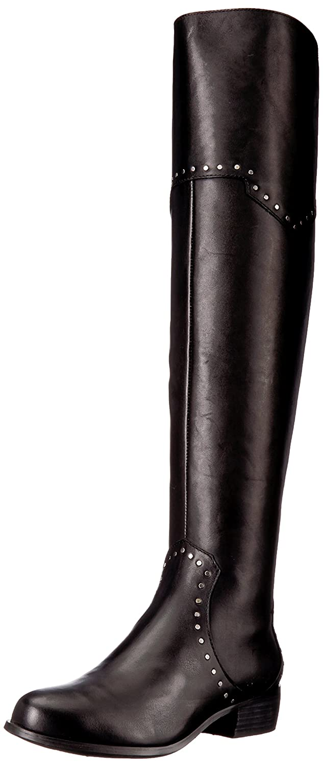 Aerosoles Women's West Side Over The Knee Boot B0753QG7V6 8.5 B(M) US|Black Leather