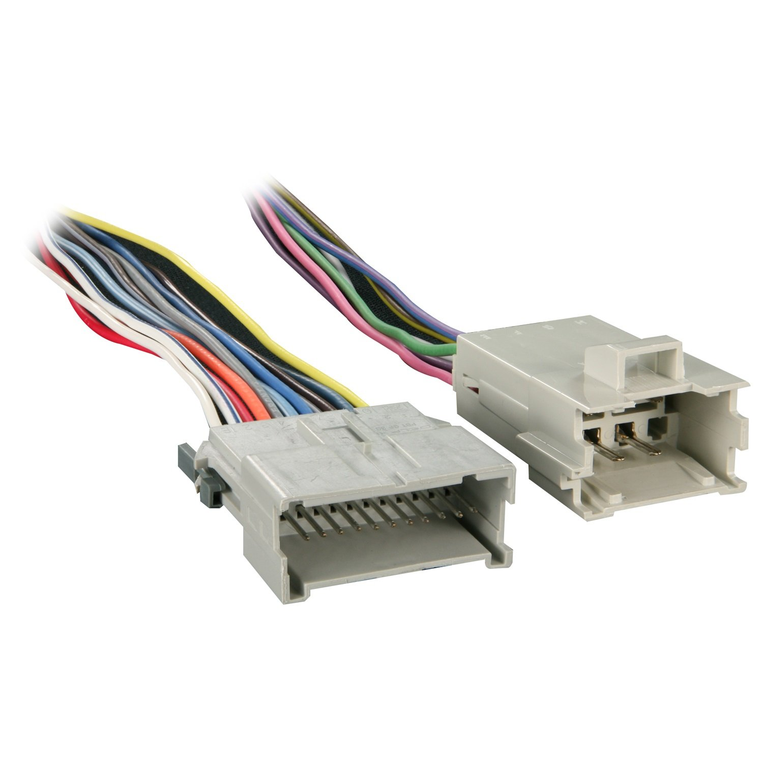 71gEc%2BOPJ8L._SL1500_ amazon com metra 70 2054 factory amplifier bypass harness for GM Wiring Color Codes at bakdesigns.co