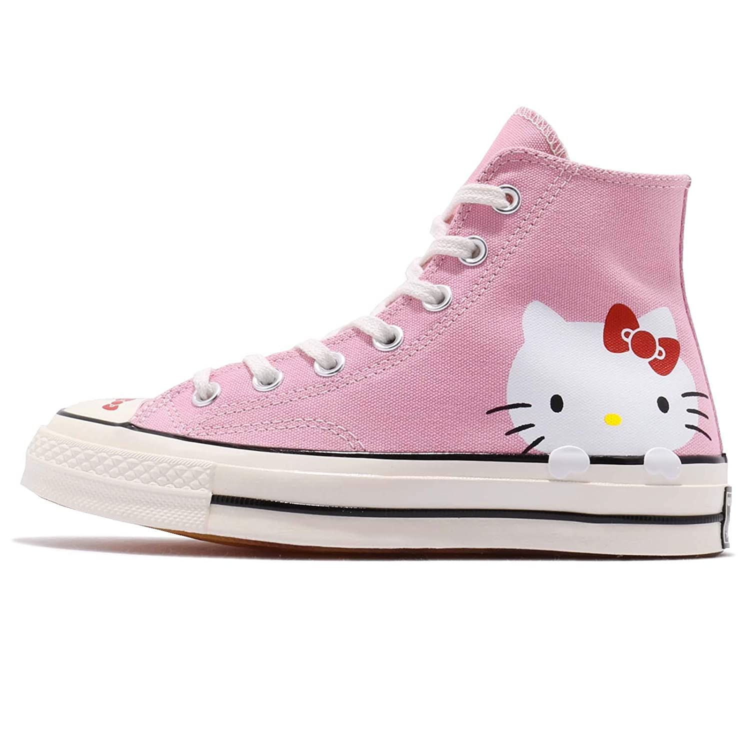 d4774c82b Clothing, Shoes & Accessories Athletic Shoes Converse x Hello Kitty All  Star Hi Chuck Taylor 70 Pink Womens ...