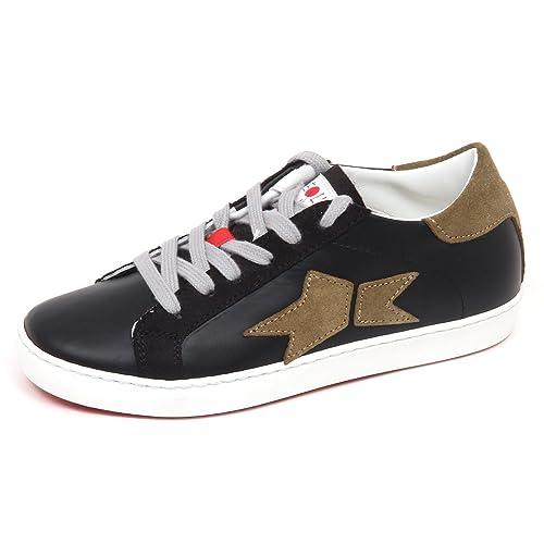 Sneaker Nero Shoe E2650 Black Kid Sequel By Scarpe Bimbo Ishikawa QCxBsdhrt