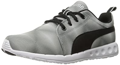 PUMA Women's Carson Runner Wn's Illusion Running Shoe, White Black, ...