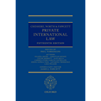 Cheshire, North & Fawcett: Private International Law (English Edition)