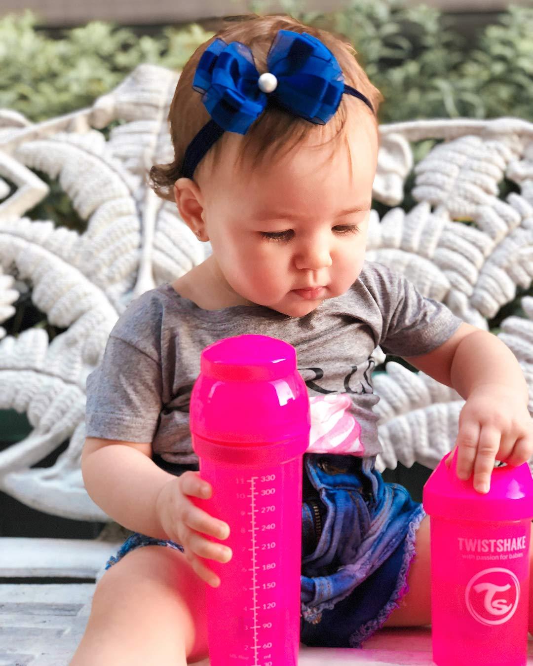 Twistshake 78013 Anti-Colic Babyflasche 330 ml//11 oz rosa