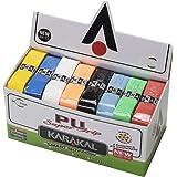 KARAKAL Assorted colors Universal PU Replacement Grip (Box of 24) , Assorted