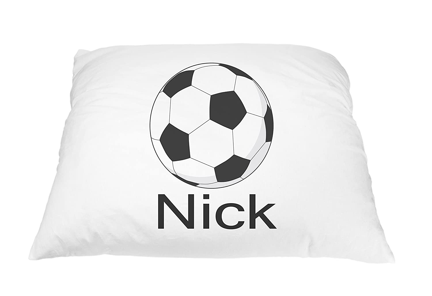 Personalized Kid's Soccer Ball Sports Pillowcase Microfiber Polyester Standard 20 by 30 Inches, Kids Bedding Pillows, Custom Pillowcase, Soccer Pillow Cover, Soccer Gift Personalized Pillows for Kids Pillows2