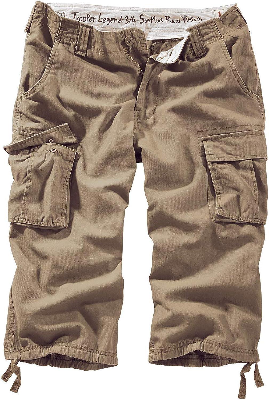 Surplus Trooper Legend 3//4 Shorts