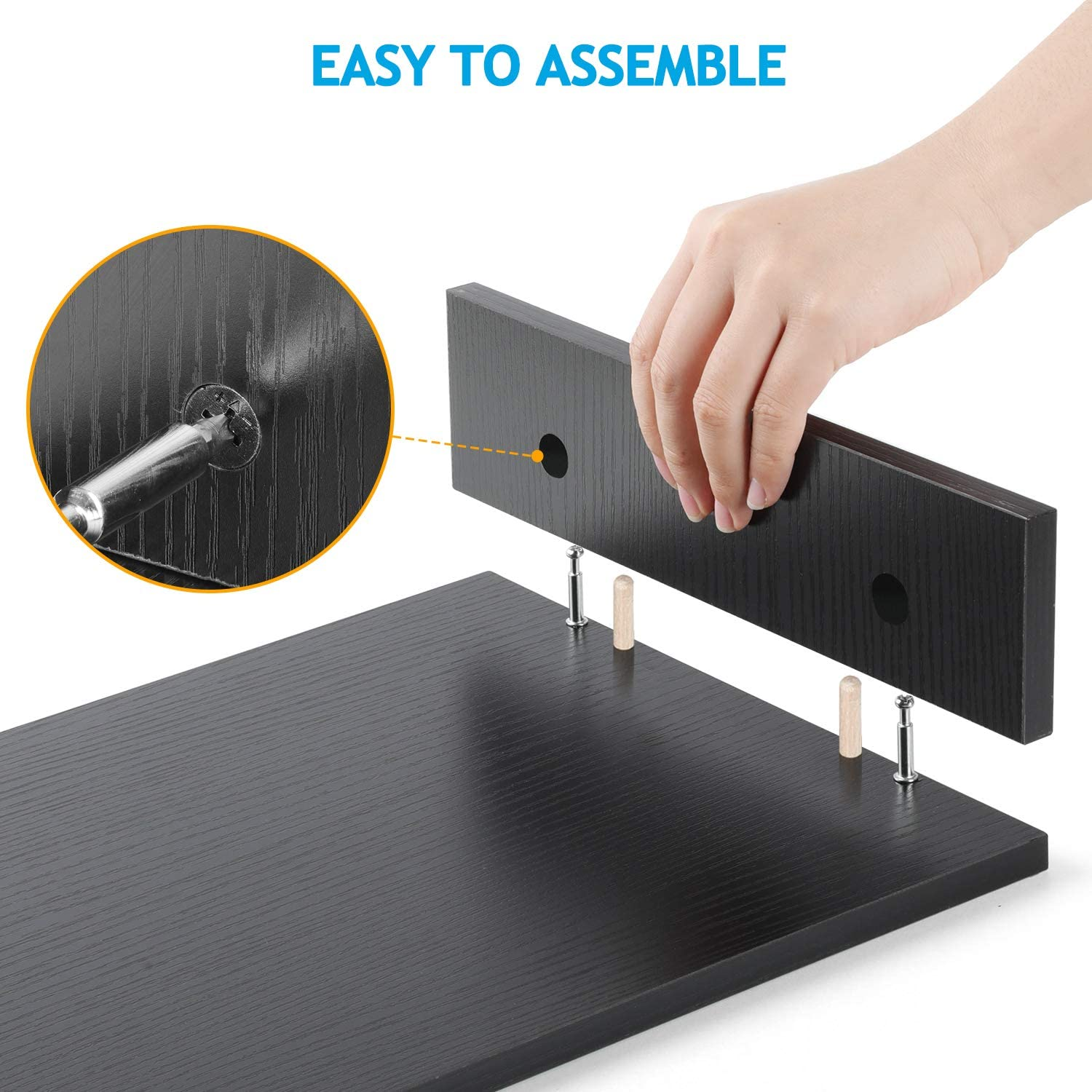 LORYERGO Monitor Stand Riser - Laptop Stand with 2 Tier Storage Shelf, Desktop Storage Organizer for Computer, Laptop, Printer, Perfect as Screen Stand, Desktop Bookshelf for Home & Office : Office Products