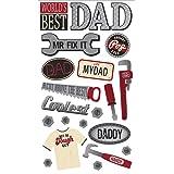 Sticko Classic Stickers, Fix it Dad