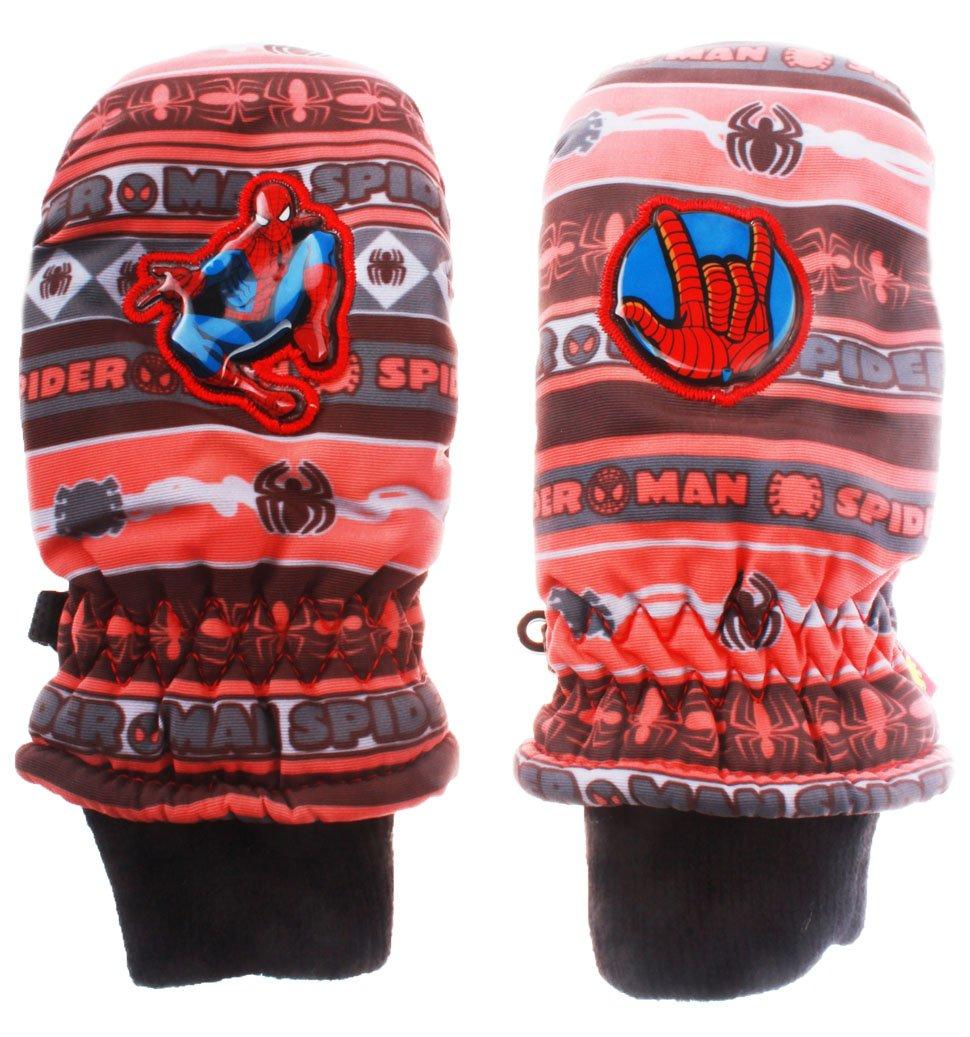 Fäustlinge Ski Kinder Jungen Spider-Man 3Farben von 2bis 5Jahre Orange/noir 2-3 Jahre
